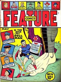 Cover Thumbnail for Feature Comics (Quality Comics, 1939 series) #56