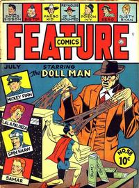Cover Thumbnail for Feature Comics (Quality Comics, 1939 series) #58