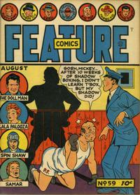 Cover Thumbnail for Feature Comics (Quality Comics, 1939 series) #59