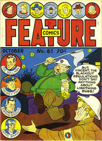Cover Thumbnail for Feature Comics (Quality Comics, 1939 series) #61