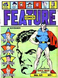 Cover Thumbnail for Feature Comics (Quality Comics, 1939 series) #62