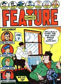 Cover Thumbnail for Feature Comics (Quality Comics, 1939 series) #63