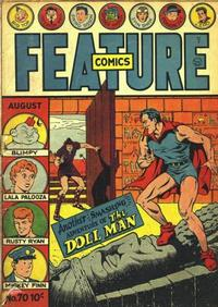 Cover Thumbnail for Feature Comics (Quality Comics, 1939 series) #70