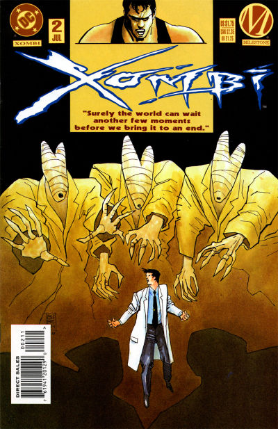 Cover for Xombi (DC, 1994 series) #2