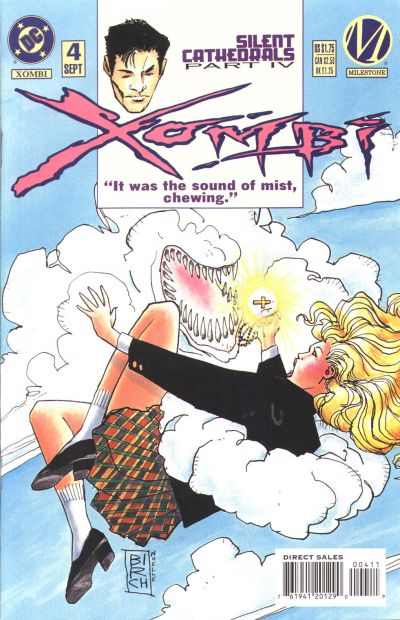 Cover for Xombi (DC, 1994 series) #4