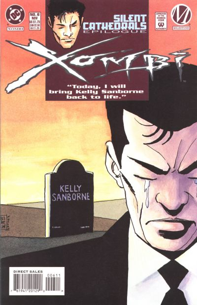 Cover for Xombi (DC, 1994 series) #6