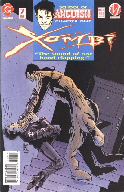 Cover for Xombi (DC, 1994 series) #7