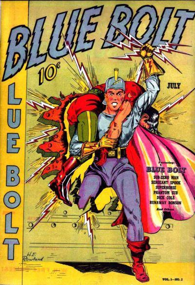 Cover for Blue Bolt (Novelty / Premium / Curtis, 1940 series) #v1#2 [2]