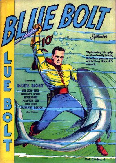 Cover for Blue Bolt (Novelty / Premium / Curtis, 1940 series) #v1#4 [4]