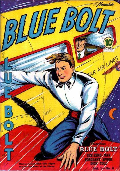 Cover for Blue Bolt (Novelty / Premium / Curtis, 1940 series) #v1#6 [6]