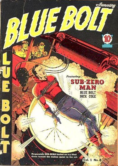 Cover for Blue Bolt (Novelty / Premium / Curtis, 1940 series) #v1#8 [8]
