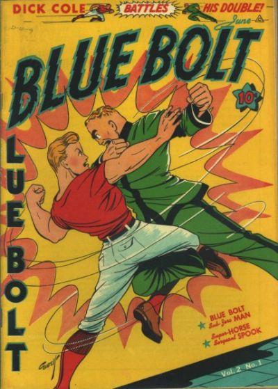 Cover for Blue Bolt (Novelty / Premium / Curtis, 1940 series) #v2#1 [13]