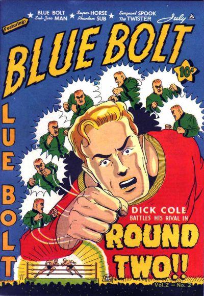 Cover for Blue Bolt (Novelty / Premium / Curtis, 1940 series) #v2#2 [14]