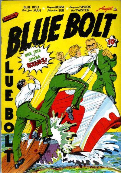 Cover for Blue Bolt (Novelty / Premium / Curtis, 1940 series) #v2#3 [15]