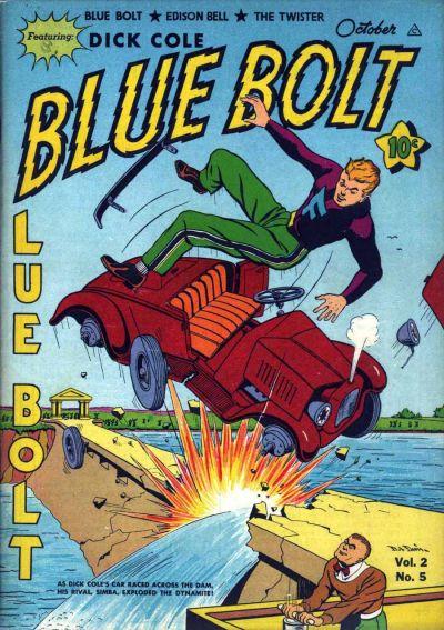 Cover for Blue Bolt (Novelty / Premium / Curtis, 1940 series) #v2#5 [17]