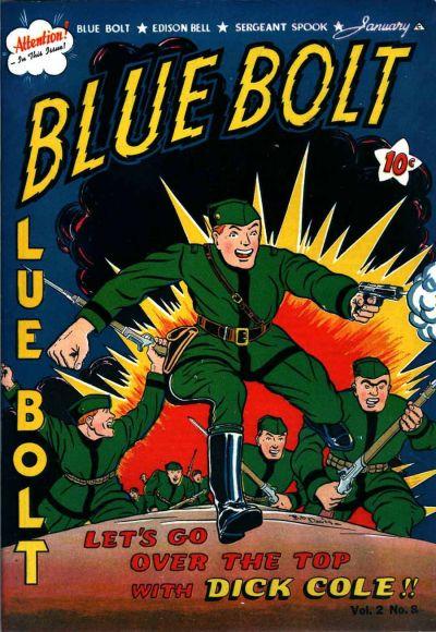 Cover for Blue Bolt (Novelty / Premium / Curtis, 1940 series) #v2#8 [20]