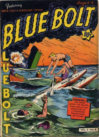 Cover for Blue Bolt (Novelty / Premium / Curtis, 1940 series) #v3#3 [27]