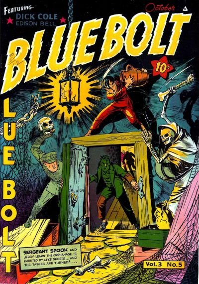 Cover for Blue Bolt (Novelty / Premium / Curtis, 1940 series) #v3#5 [29]
