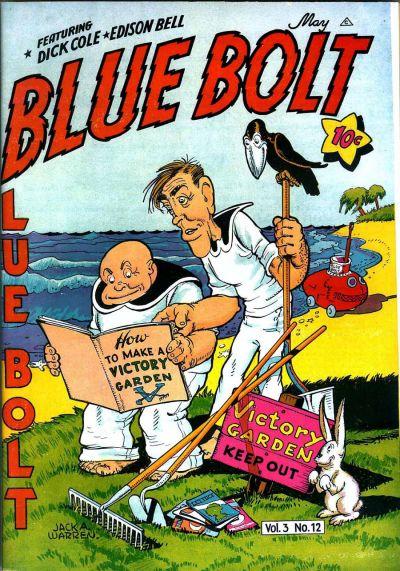 Cover for Blue Bolt (Novelty / Premium / Curtis, 1940 series) #v3#12 [36]