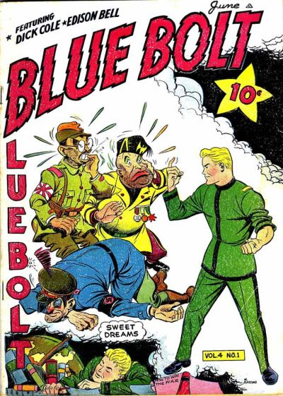 Cover for Blue Bolt (Novelty / Premium / Curtis, 1940 series) #v4#1 [37]