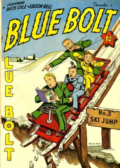 Cover for Blue Bolt (Novelty / Premium / Curtis, 1940 series) #v4#5 [41]