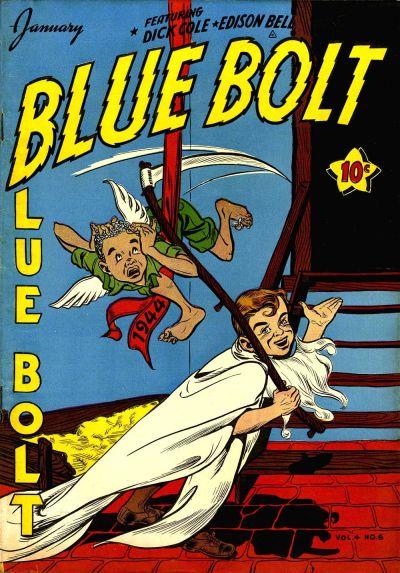 Cover for Blue Bolt (Novelty / Premium / Curtis, 1940 series) #v4#6 [42]