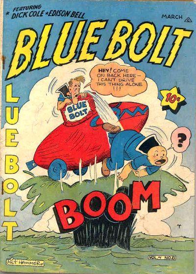 Cover for Blue Bolt (Novelty / Premium / Curtis, 1940 series) #v4#8 [44]