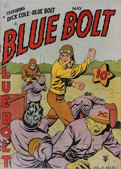 Cover for Blue Bolt (Novelty / Premium / Curtis, 1940 series) #v4#10 [46]