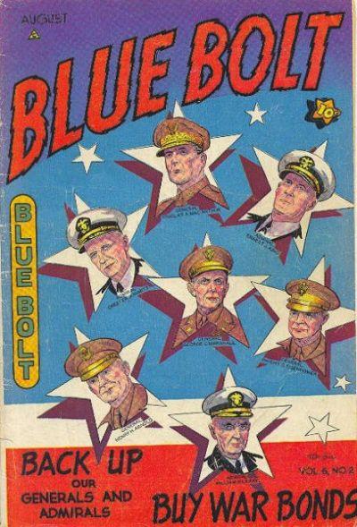 Cover for Blue Bolt (Novelty / Premium / Curtis, 1940 series) #v6#2 [58]