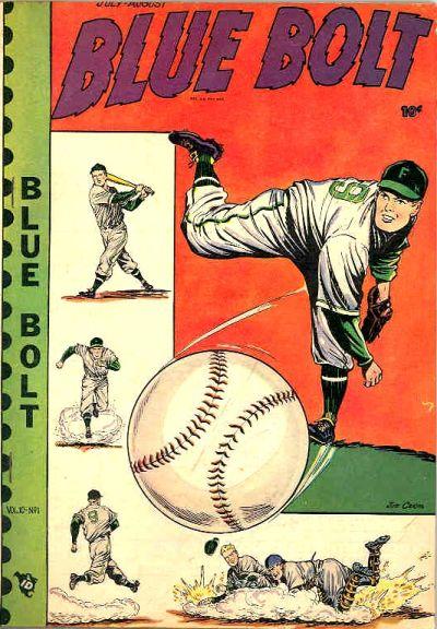 Cover for Blue Bolt (Novelty / Premium / Curtis, 1940 series) #v10#1 [100]