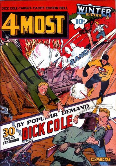Cover for 4Most (Novelty / Premium / Curtis, 1941 series) #v1#1 [1]