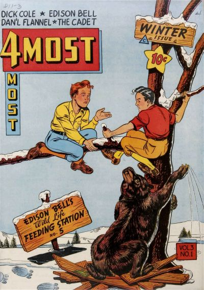 Cover for 4Most (Novelty / Premium / Curtis, 1941 series) #v3#1 [9]