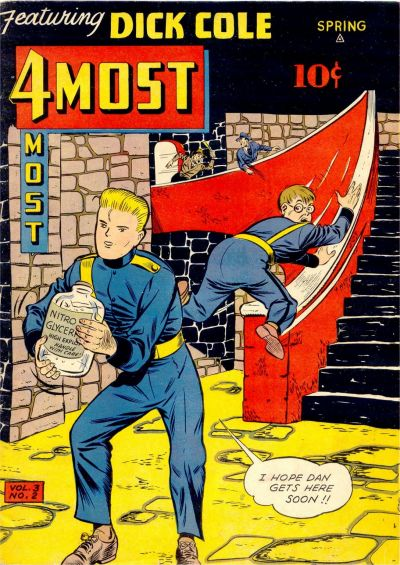 Cover for 4Most (Novelty / Premium / Curtis, 1941 series) #v3#2 [10]
