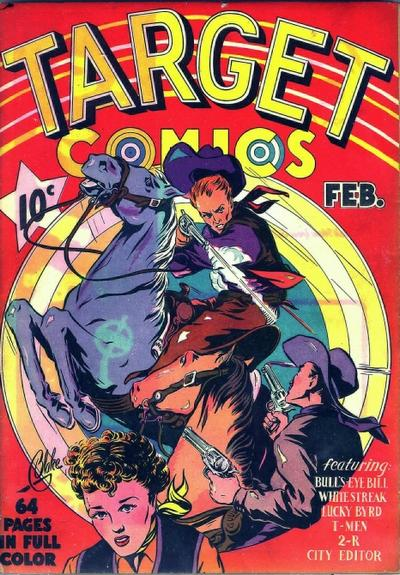 Cover for Target Comics (Novelty / Premium / Curtis, 1940 series) #v1#1 [1]
