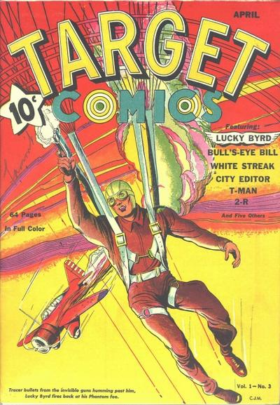 Cover for Target Comics (Novelty / Premium / Curtis, 1940 series) #v1#3 [3]