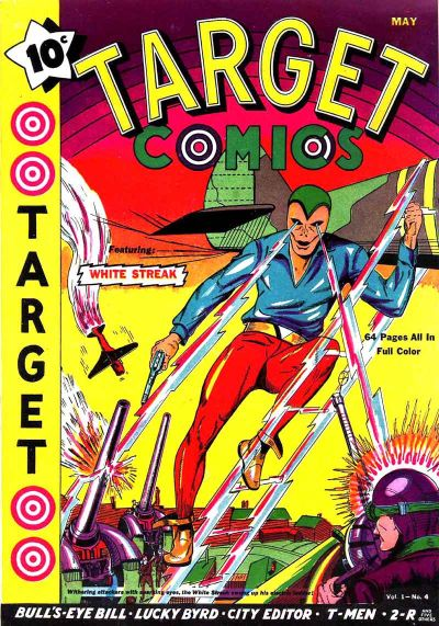 Cover for Target Comics (Novelty / Premium / Curtis, 1940 series) #v1#4 [4]