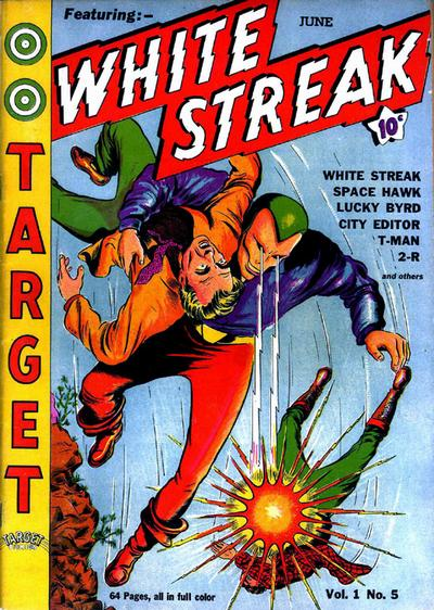 Cover for Target Comics (Novelty / Premium / Curtis, 1940 series) #v1#5 [5]