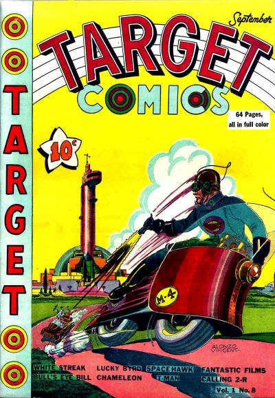 Cover for Target Comics (Novelty / Premium / Curtis, 1940 series) #v1#8 [8]