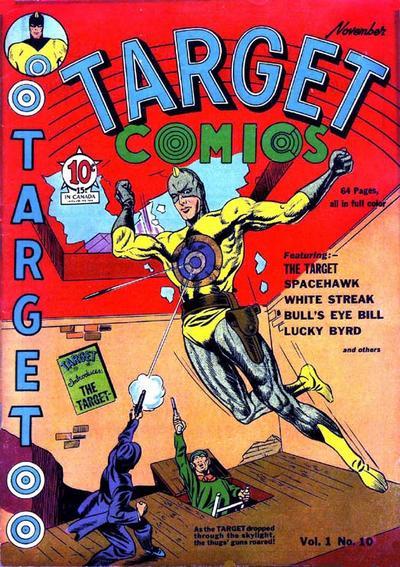 Cover for Target Comics (Novelty / Premium / Curtis, 1940 series) #v1#10 [10]