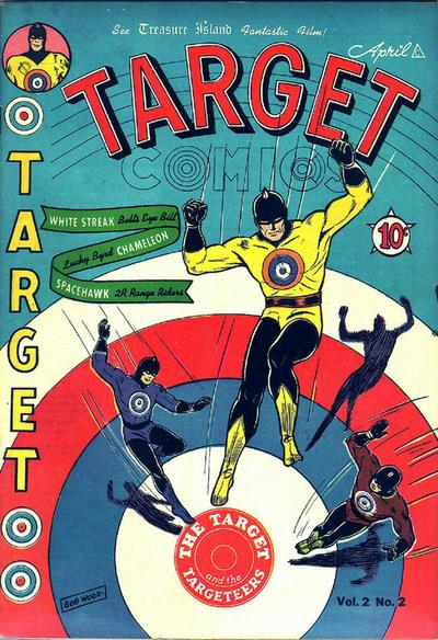 Cover for Target Comics (Novelty / Premium / Curtis, 1940 series) #v2#2 [14]