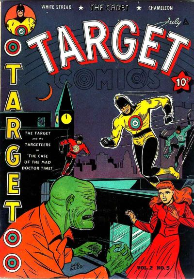 Cover for Target Comics (Novelty / Premium / Curtis, 1940 series) #v2#5 [17]