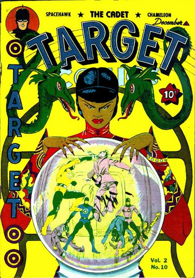 Cover for Target Comics (Novelty / Premium / Curtis, 1940 series) #v2#10 [22]