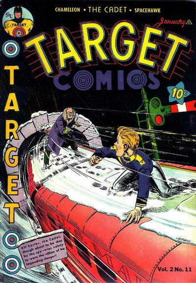 Cover for Target Comics (Novelty / Premium / Curtis, 1940 series) #v2#11 [23]