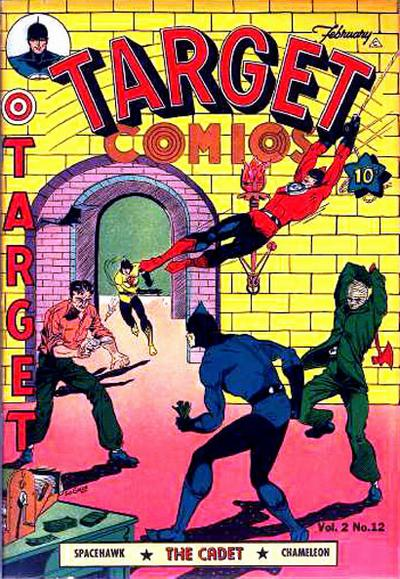 Cover for Target Comics (Novelty / Premium / Curtis, 1940 series) #v2#12 [24]