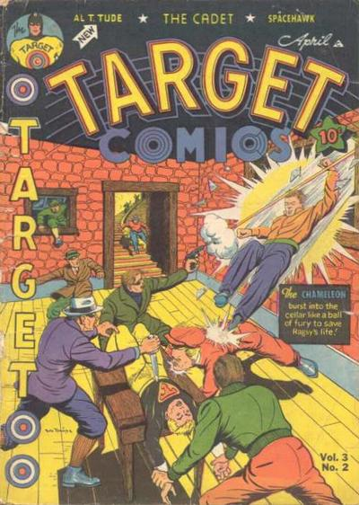Cover for Target Comics (Novelty / Premium / Curtis, 1940 series) #v3#2 [26]