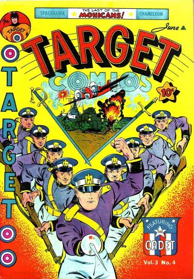 Cover for Target Comics (Novelty / Premium / Curtis, 1940 series) #v3#4 [28]
