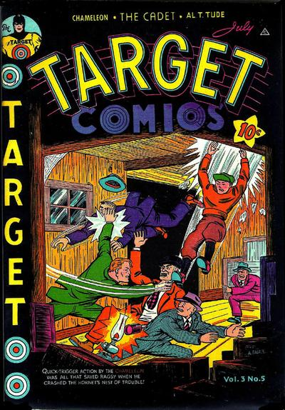 Cover for Target Comics (Novelty / Premium / Curtis, 1940 series) #v3#5 [29]
