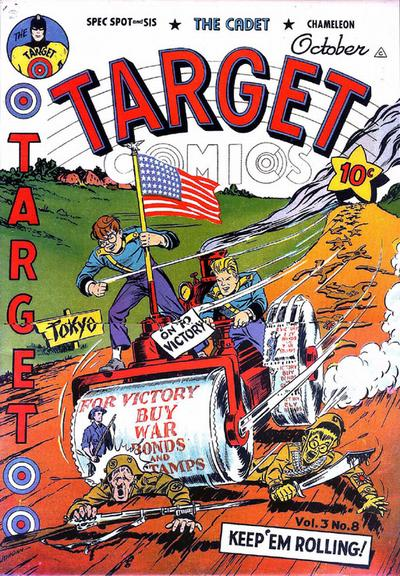 Cover for Target Comics (Novelty / Premium / Curtis, 1940 series) #v3#8 [32]