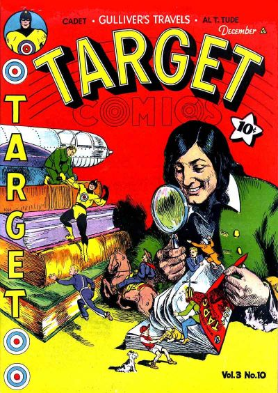 Cover for Target Comics (Novelty / Premium / Curtis, 1940 series) #v3#10 [34]