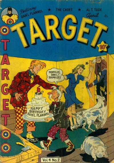 Cover for Target Comics (Novelty / Premium / Curtis, 1940 series) #v4#2 [38]